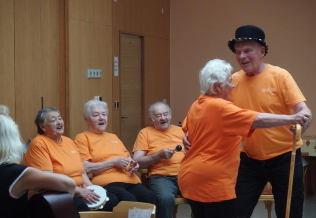 Zvystoupení Seniors bandu