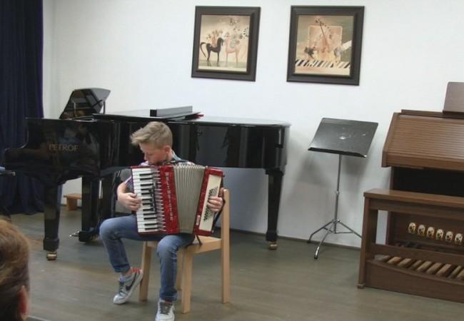 Soutěž akordeonů