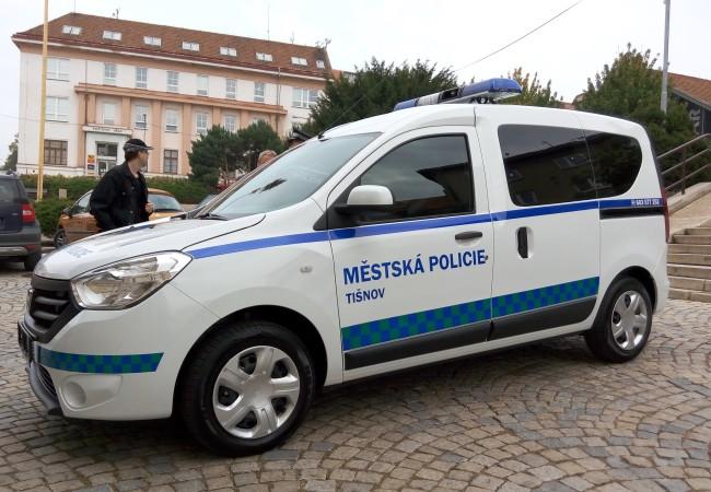 Městská policie získala nové služební vozidlo