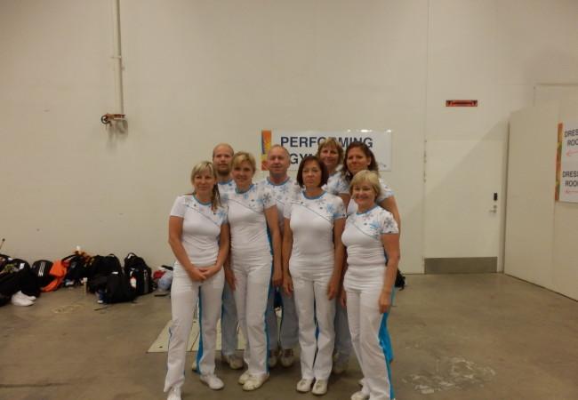 Cvičili jsme na světové gymnaestrádě v Helsinkách
