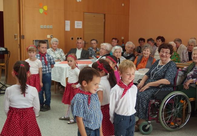 Oslava Mezinárodního dne seniorů v Tišnově