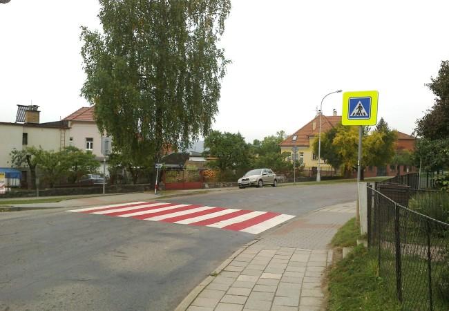 Nové a bezpečné označení přechodů pro chodce