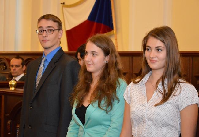 Student Gymnázia Tišnov byl oceněn za reprezentaci kraje