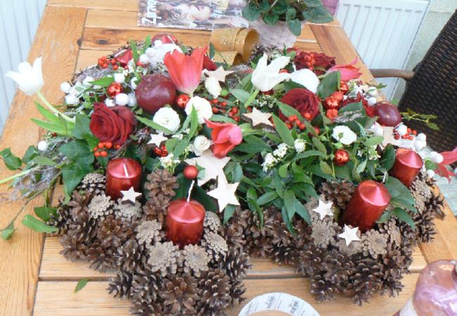 Zájezd s vánočním posezením do Zahradnictví Šebrov a Restaurace Lipůvka