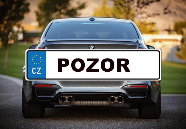 Upozornění pro majitele vozidel v depozitu