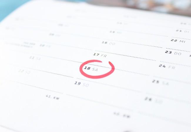 Kalendárium – významná kulturní a historická data