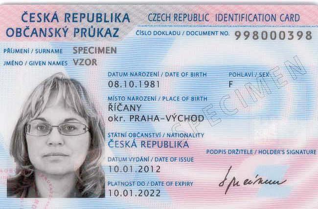 Některé změny spojené s novelou zákona o občanských průkazech a cestovních dokladech účinné od 1. 1. 2016