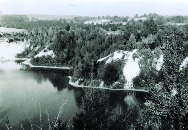 Kaolinový důl Lažánky