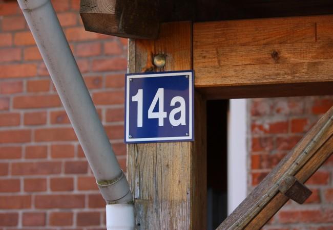 Označování budov číslem popisným