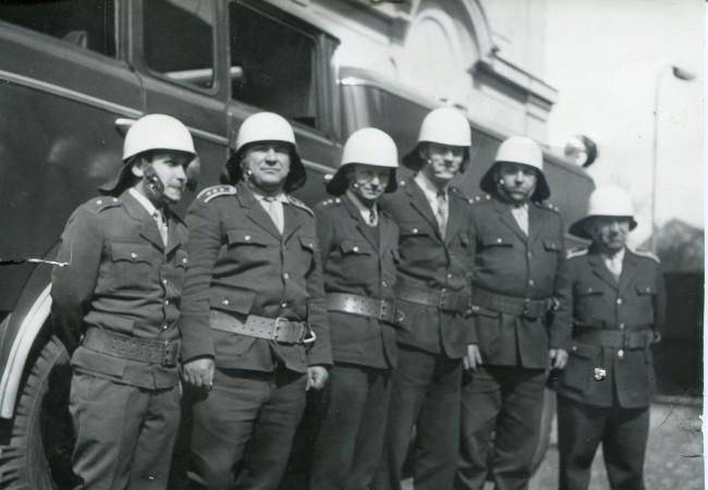 Pětačtyřicet let profesionálních hasičů v našem městě