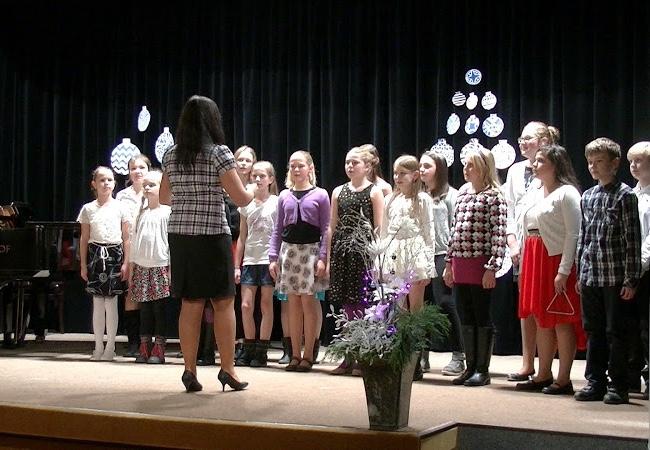 Vánoční koncert ZUŠ Tišnov 2015
