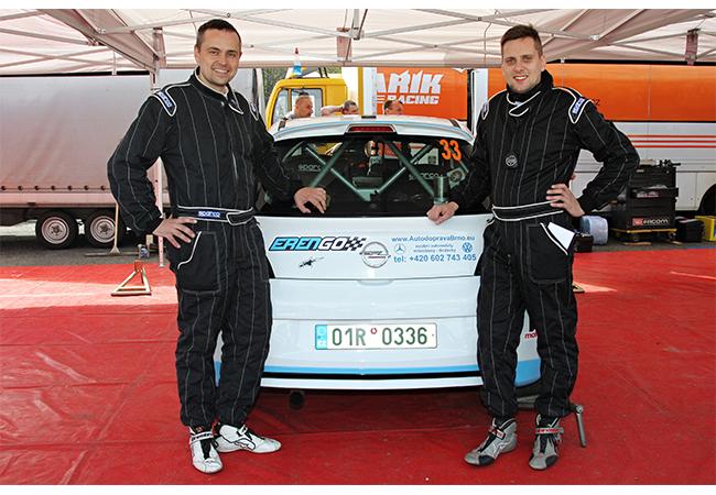 NK Motorsport snovou technikou