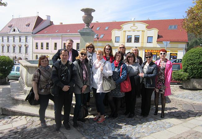 Slovenští učitelé navštívili tišnovské gymnázium
