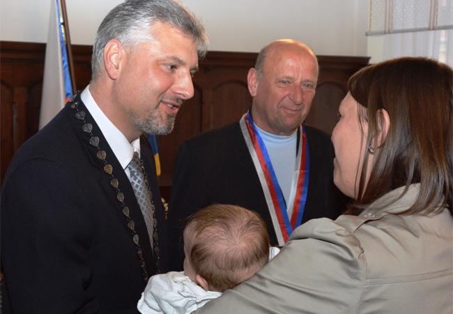 Vítání nových občánků města Tišnova 2016