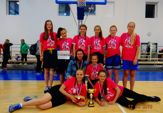 Basketbal AND1.CUP 2016 mladších žákyň