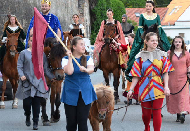 Lucemburkové, trhy tišnovské a klášter