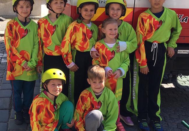Mladí hasiči ze Štěpánovic válí