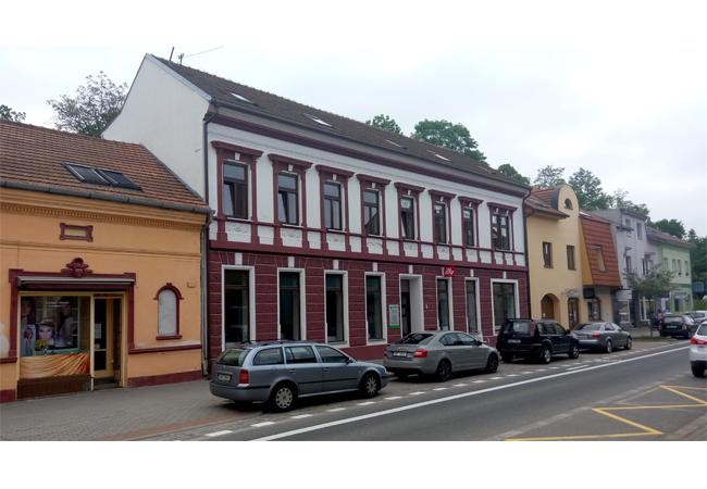 Prodej budovy Brněnská č. 2