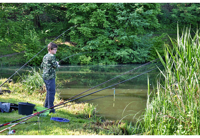 Rybářské závody mládeže 2016