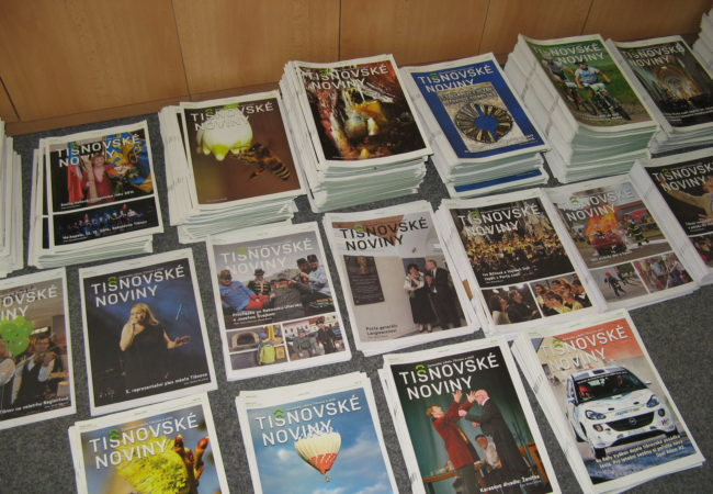 Zredakce Tišnovských novin