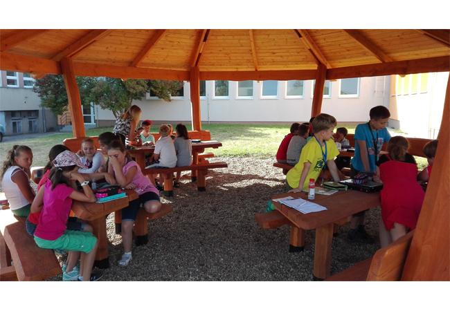 Prázdninové změny vMateřské a Základní škole Deblín