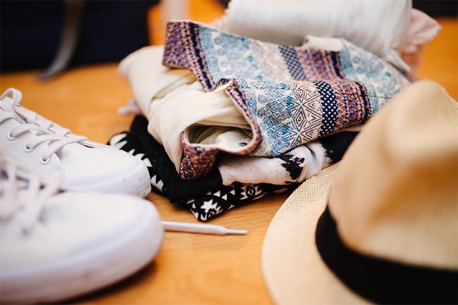 Jarní humanitární sbírka textilu aošacení