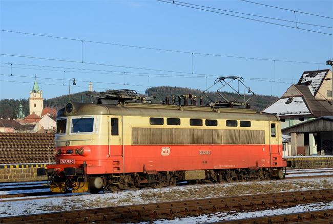 Výstava o železnici vTišnově