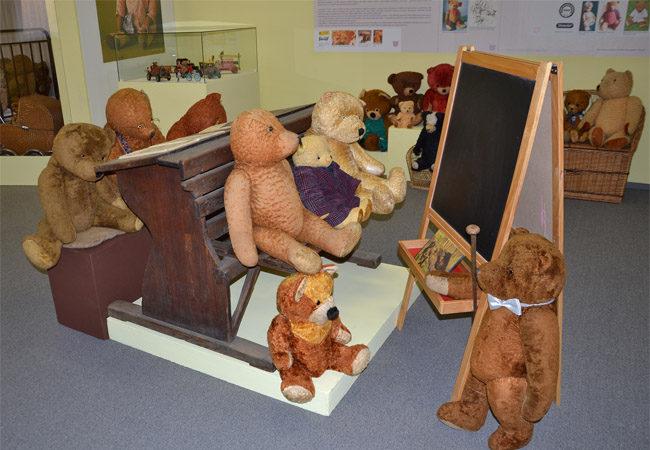 Plyšoví medvídci se zabydleli vPodhoráckém muzeu!