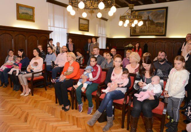 Vítání nových občánků města Tišnova