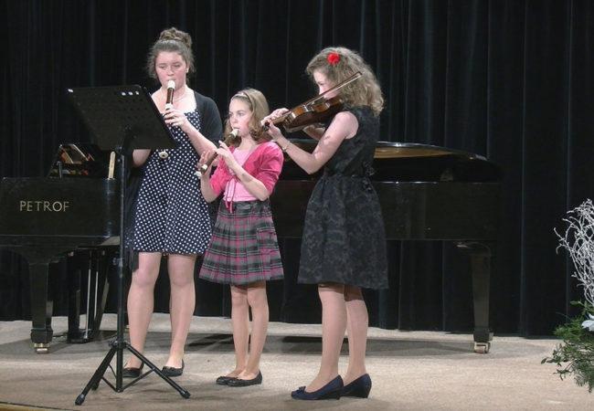 Vánoční koncert základní umělecké školy