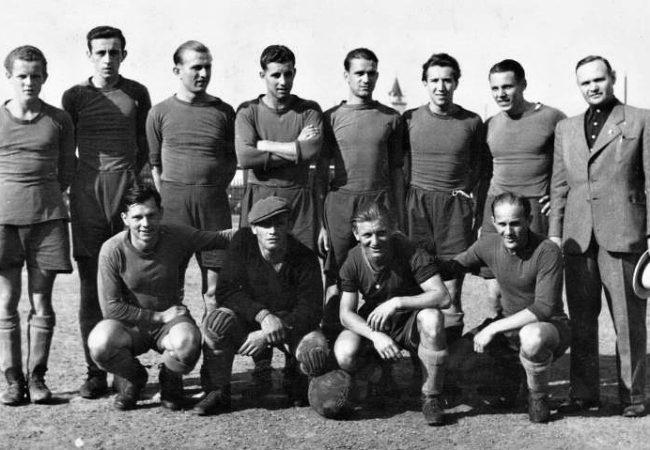 Před sto lety se narodil první tišnovský ligový fotbalista