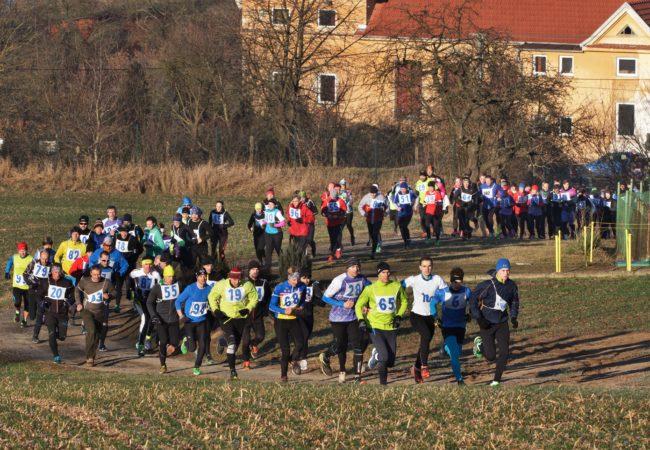 Silvestrovský běh v Lomničce