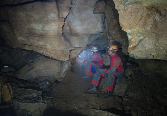 Objev v Průvanové jeskyni v lažánecko-heroltickém krasu