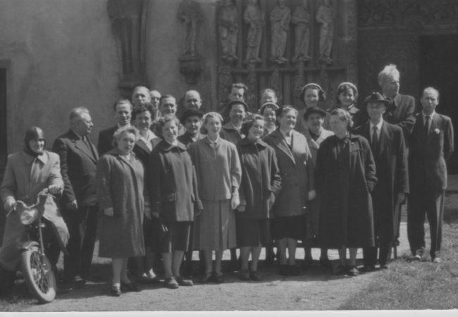 Vzpomínka na Jakuba Horáka (1906 až 1976), dlouholetého regenschoriho a varhaníka tišnovského chrámu