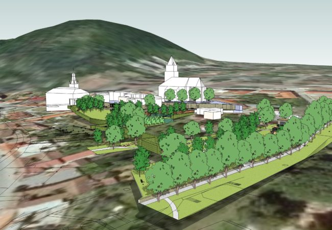 Zahájení prací na projektu Revitalizace parku pod kostelem