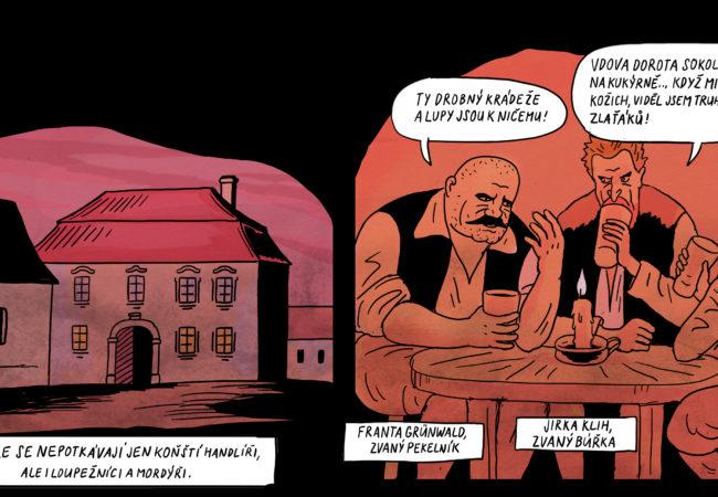 Komiks hrdelních případů městečka Tišnova