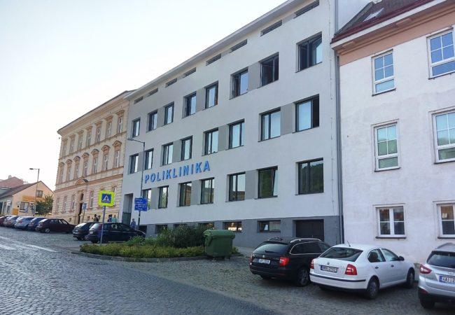 Záměr pronájmu ordinací na tišnovské poliklinice