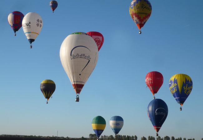 Balonové létání jako sport?