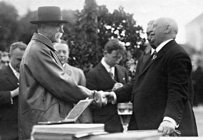 Dlouhodobý seriál o čestných občanech města Tišnova (díl 17.) – 10: Tomáš Garrigue Masaryk a jeho návštěva Horácka 1928