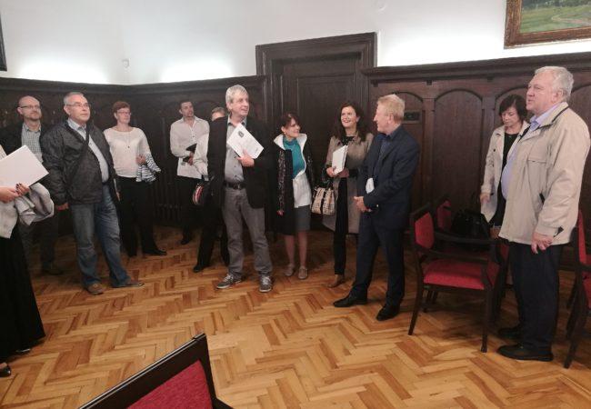 Jihomoravští ředitelé gymnázií v Tišnově
