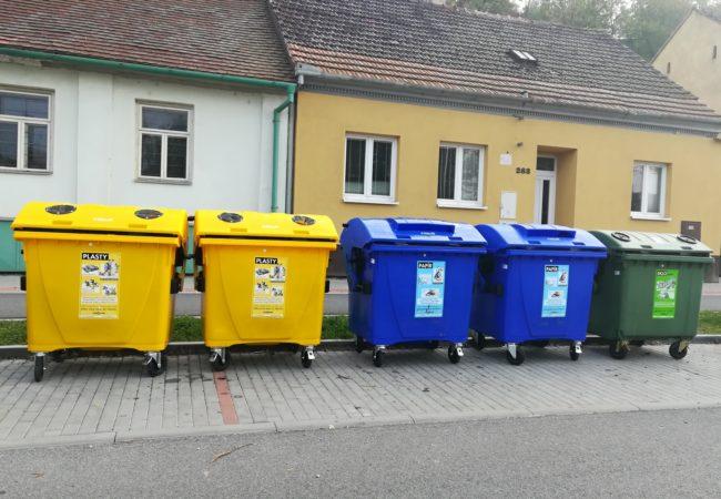 Tišnov posiluje v třídění komunálního odpadu