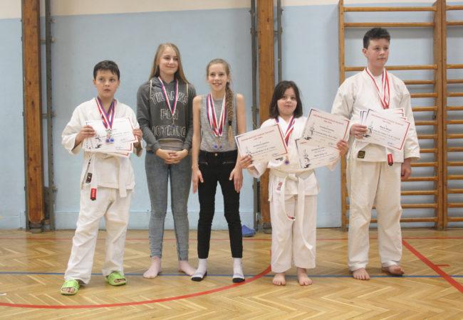 Krajská soutěž karate v Tišnově
