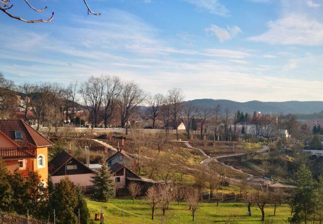 Park pod kostelem – historie a současnost
