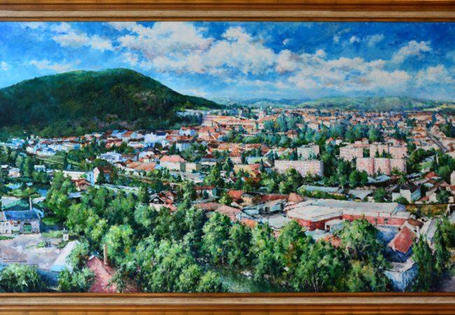 Obraz Tišnova v muzeu