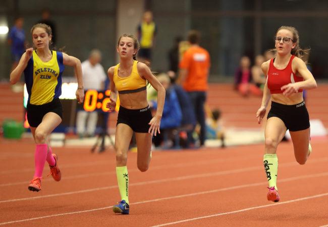 Úspěchy na halovém mistrovství Moravy a Slezska v atletice