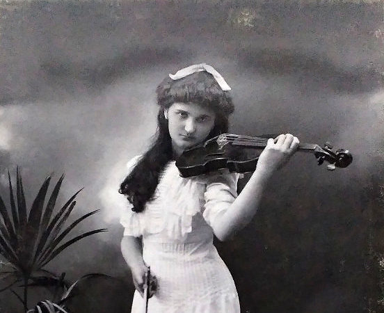 Utajená houslová virtuoska