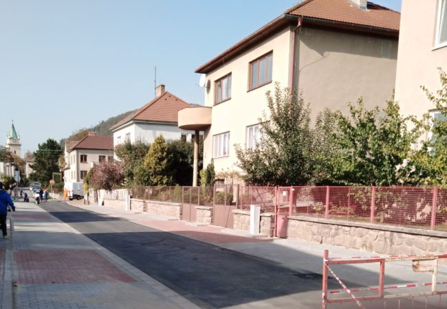 Rekonstrukce Kvapilovy ulice dokončena