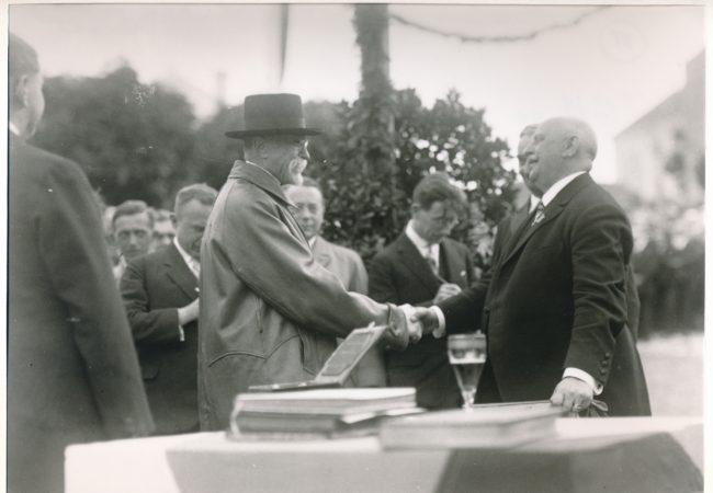 Prezident T. G. Masaryk vTišnově