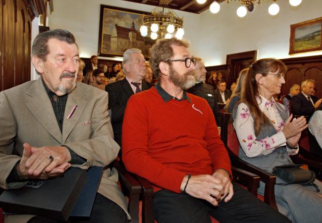 Předání cen města ačestného občanství města Tišnova