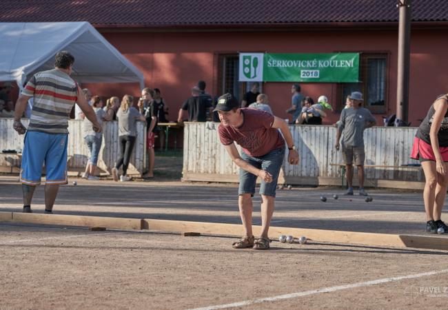 Šerkovického koulení se zúčastnilo 46 soutěžních dvojic